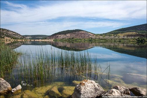Рыбалка на озере гасфорта