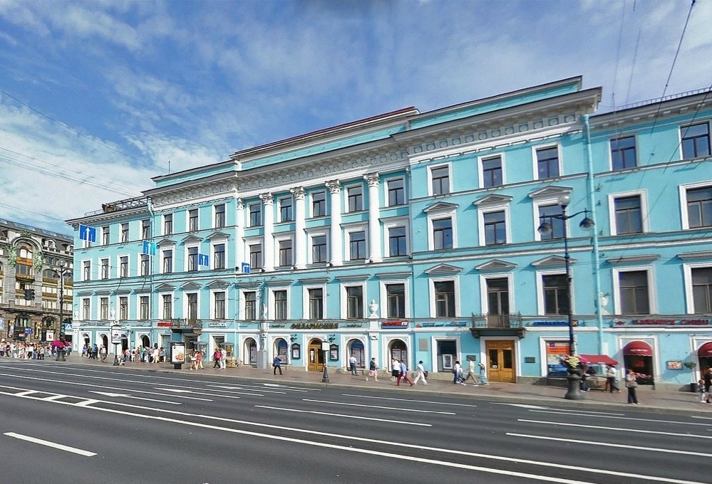 санкт-петербургская филармония им д.д шостаковича фото